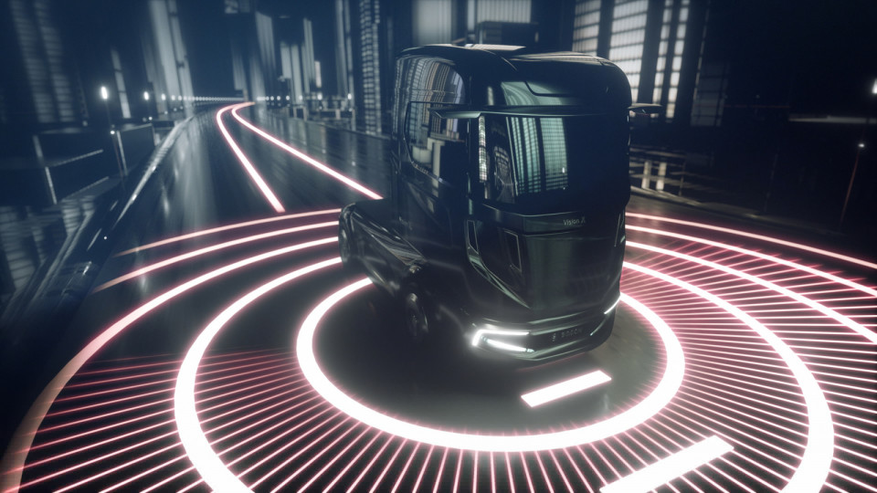 Supertruck turns roads into information superhighways