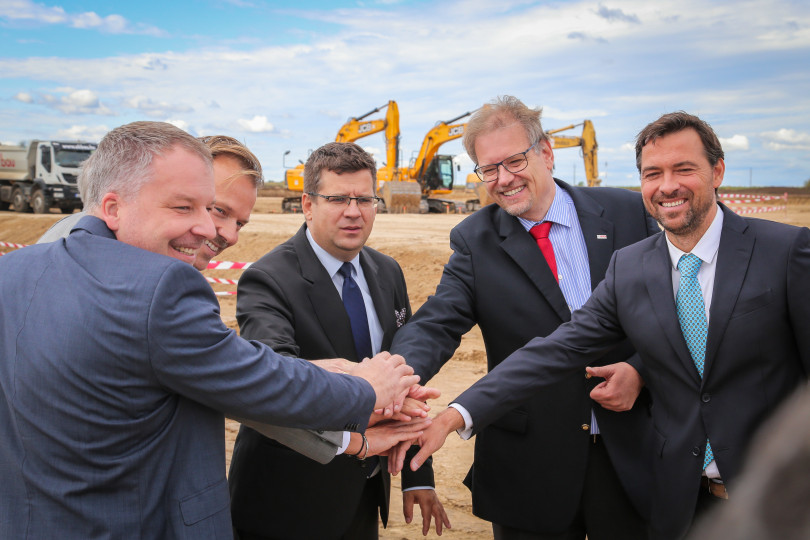 Work starts on Bosch regional logistics center in Hatvan