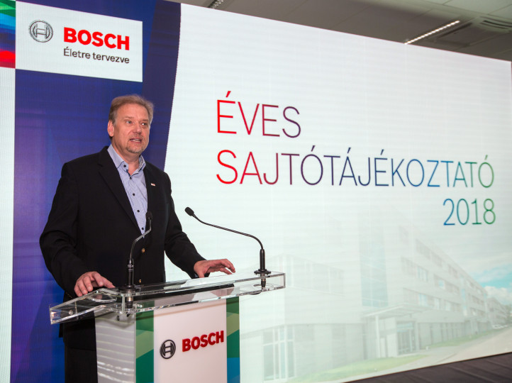 Bosch posts stable performance in Hungary