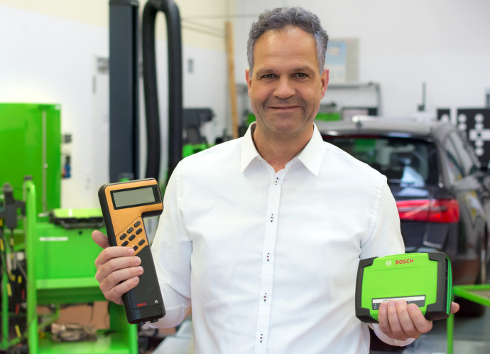 30 years of Bosch KTS diagnostic testers