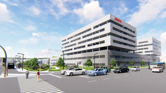 Foundation stone-laying ceremony: Bosch Engineering Center Budapest to expand further