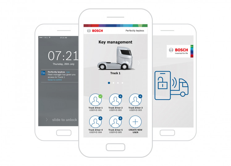 This Bosch app makes car keys a thing of the past