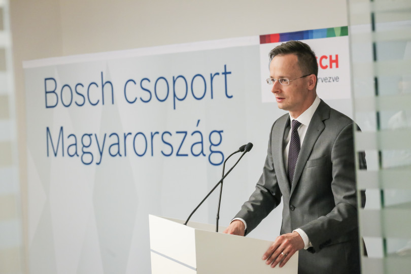 Péter Szijjártó, Minister of Foreign Affairs and Trade