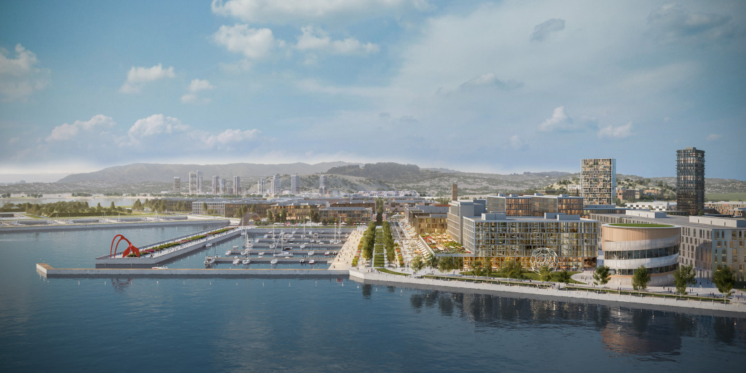 San Francisco Shipyard: smart Bosch technology for a new community development