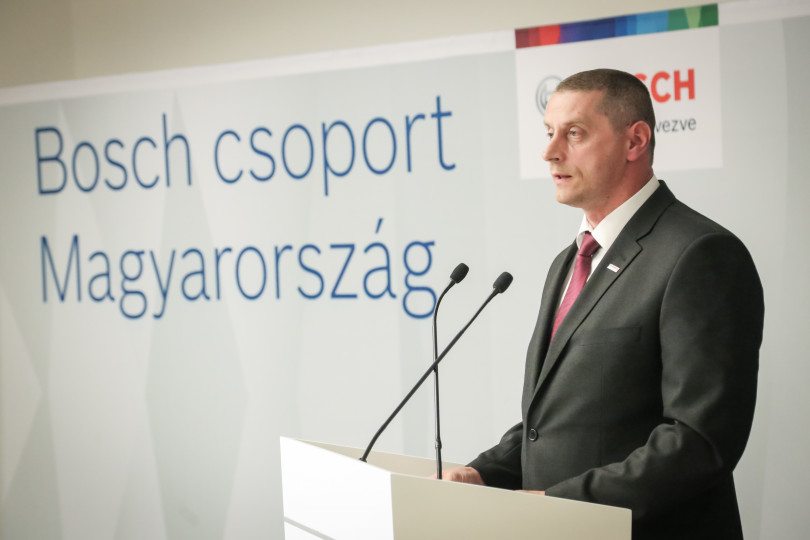László Fükő, General Manager, Robert Bosch Power Tool Kft.