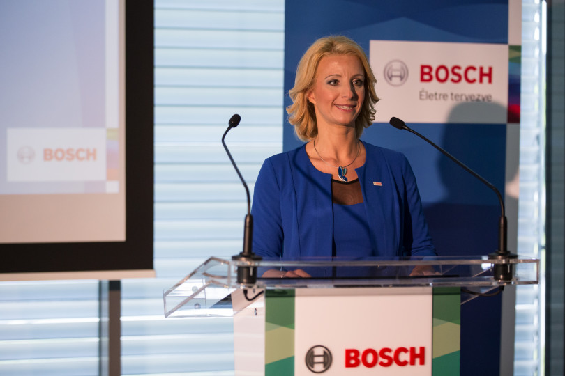 Krisztina Torma, Financial and administration director of Robert Bosch Kft.