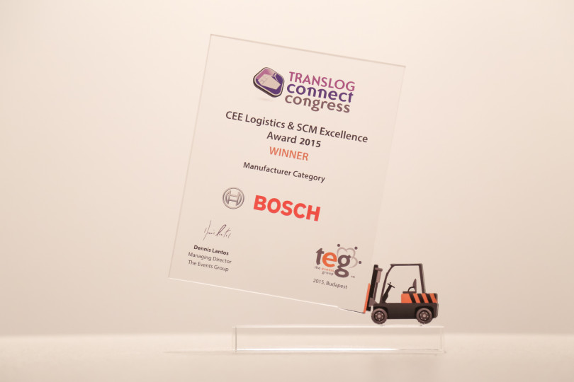 Robert Bosch Power Tool Kft. received the Award for Excellence