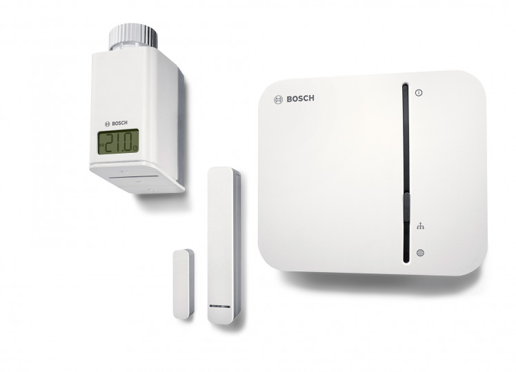 Bosch Smart Home Products - Smart thermostat, door-window contact, smart home controller