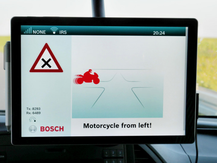 New Bosch technology could prevent nearly one-third of all motorcycle accidents