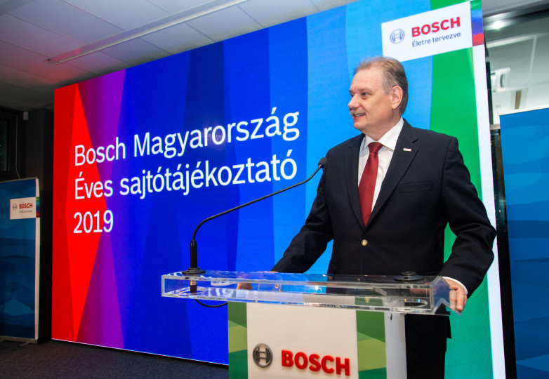 Daniel Korioth, Representative of the Bosch Group in Hungary