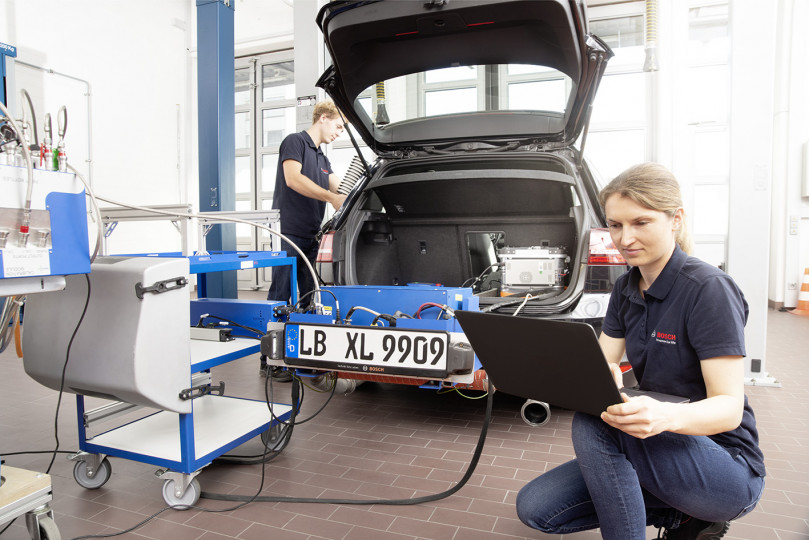 Bosch blazing new trails in mobility and environmental protection
