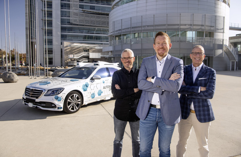 Bosch and Mercedes-Benz start San José pilot project for automated ride-hailing service