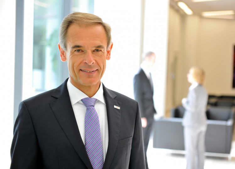 Dr. Volkmar Denner, chairman of the board of management of Robert Bosch GmbH