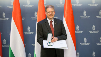 State honour for representative of Bosch in Hungary
